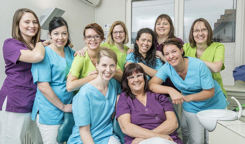 Zahnarzt in Bad Kreuznach - Zahnarztpraxis Kessler & Bruns - Praxisteam
