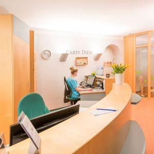 Zahnarzt In Bad Kreuznach - Zahnarztpraxis Kessler & Bruns - Praxis-Empfang